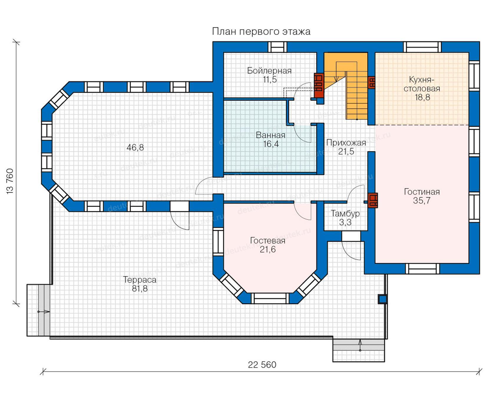 Схемы домов одно и двухэтажных